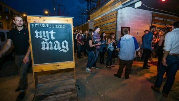 NY Times Mag Party at SXSW