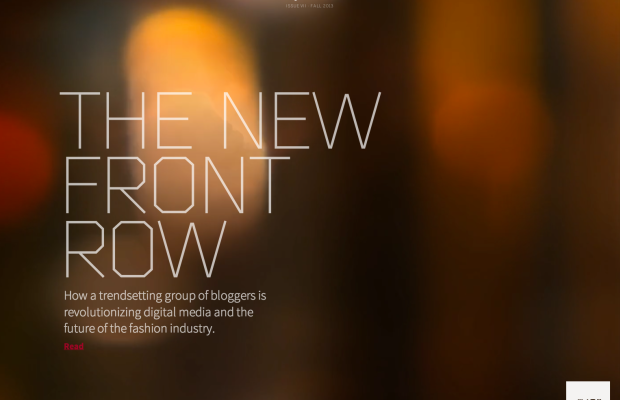 Say Quarterly New Front Row
