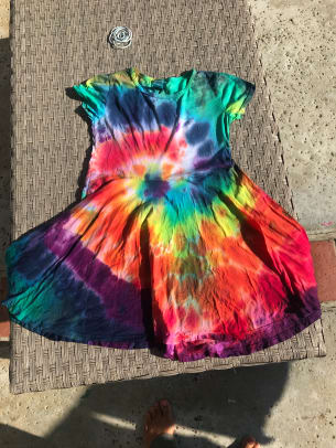 tiedye dress