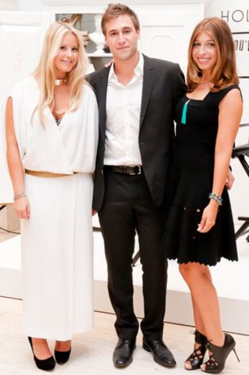 Erin, Jake and Stephanie, The Coveteur