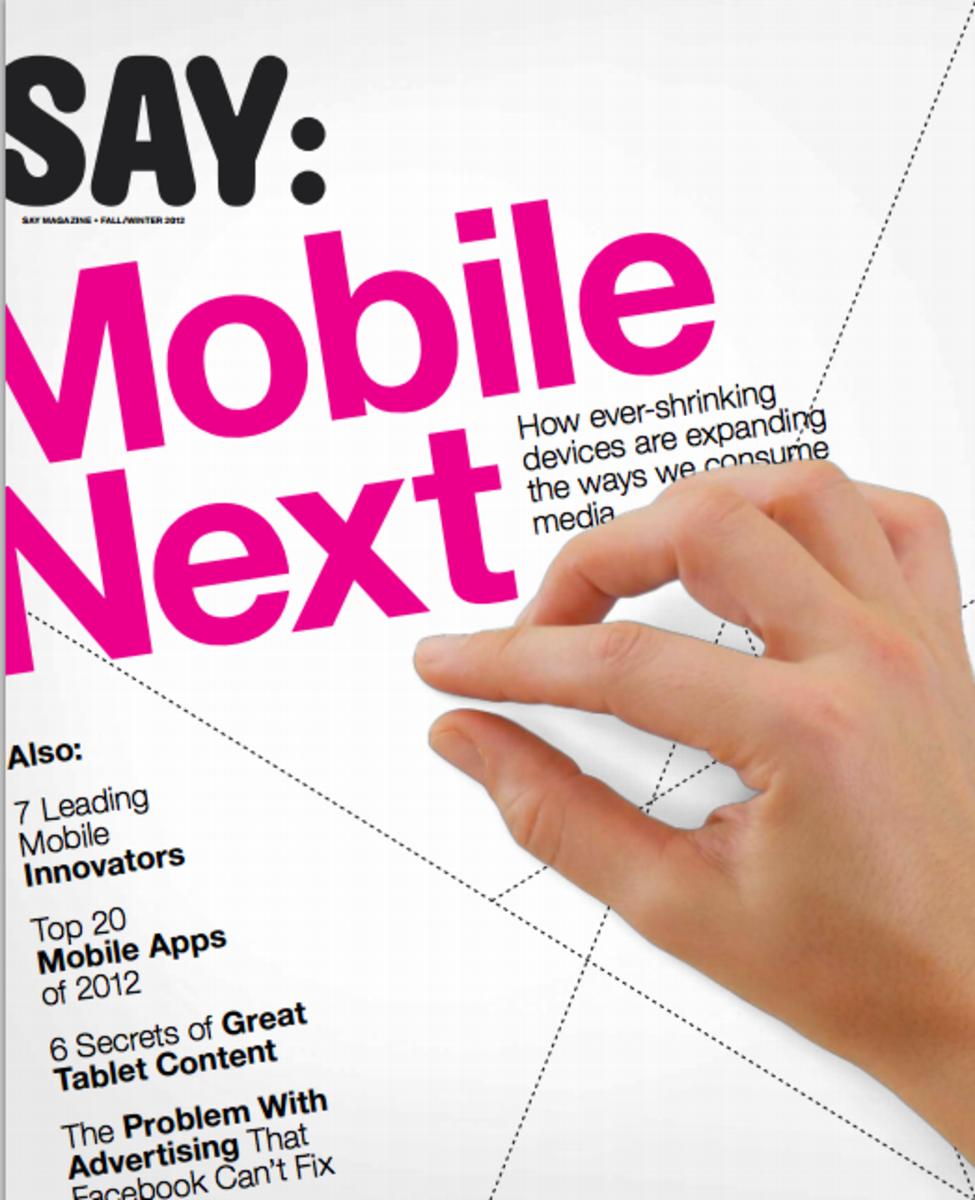 Say Magazine Mobile