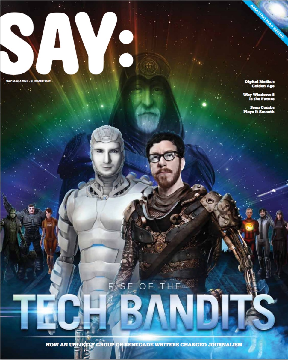 Say Magazine Tech Bandits
