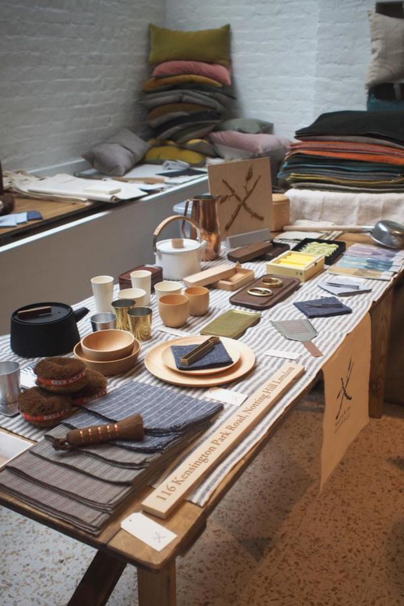 Beautiful wares at Remodelista Market London 2014