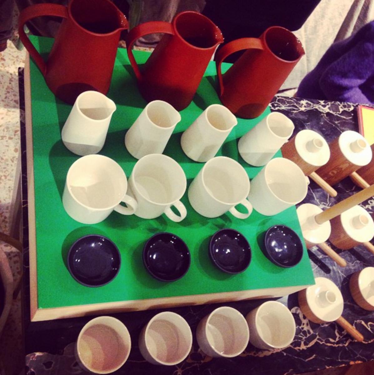 Artisan Pottery at Remodelista Market London 2014