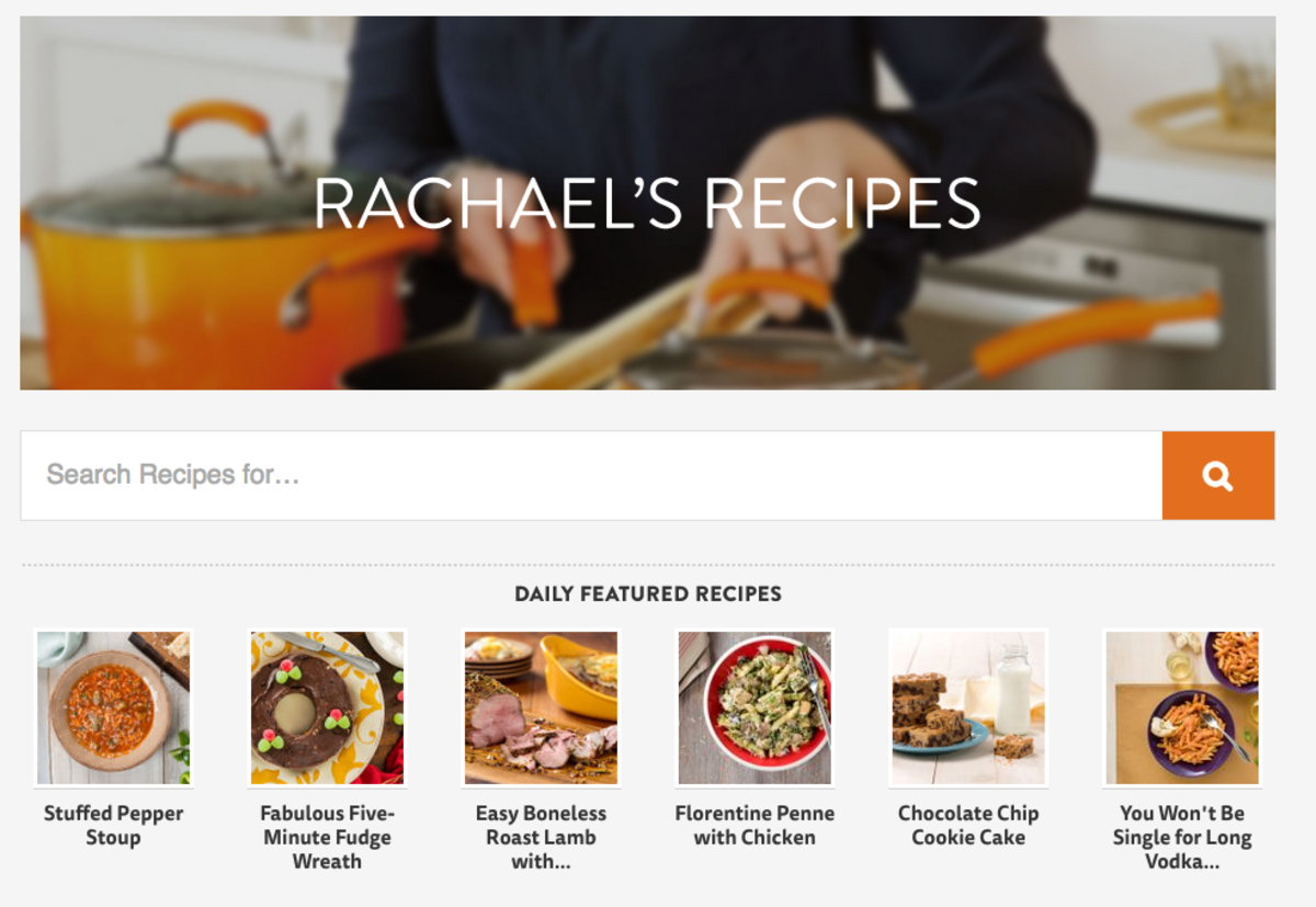 Recipes Hub on RachaelRay.com