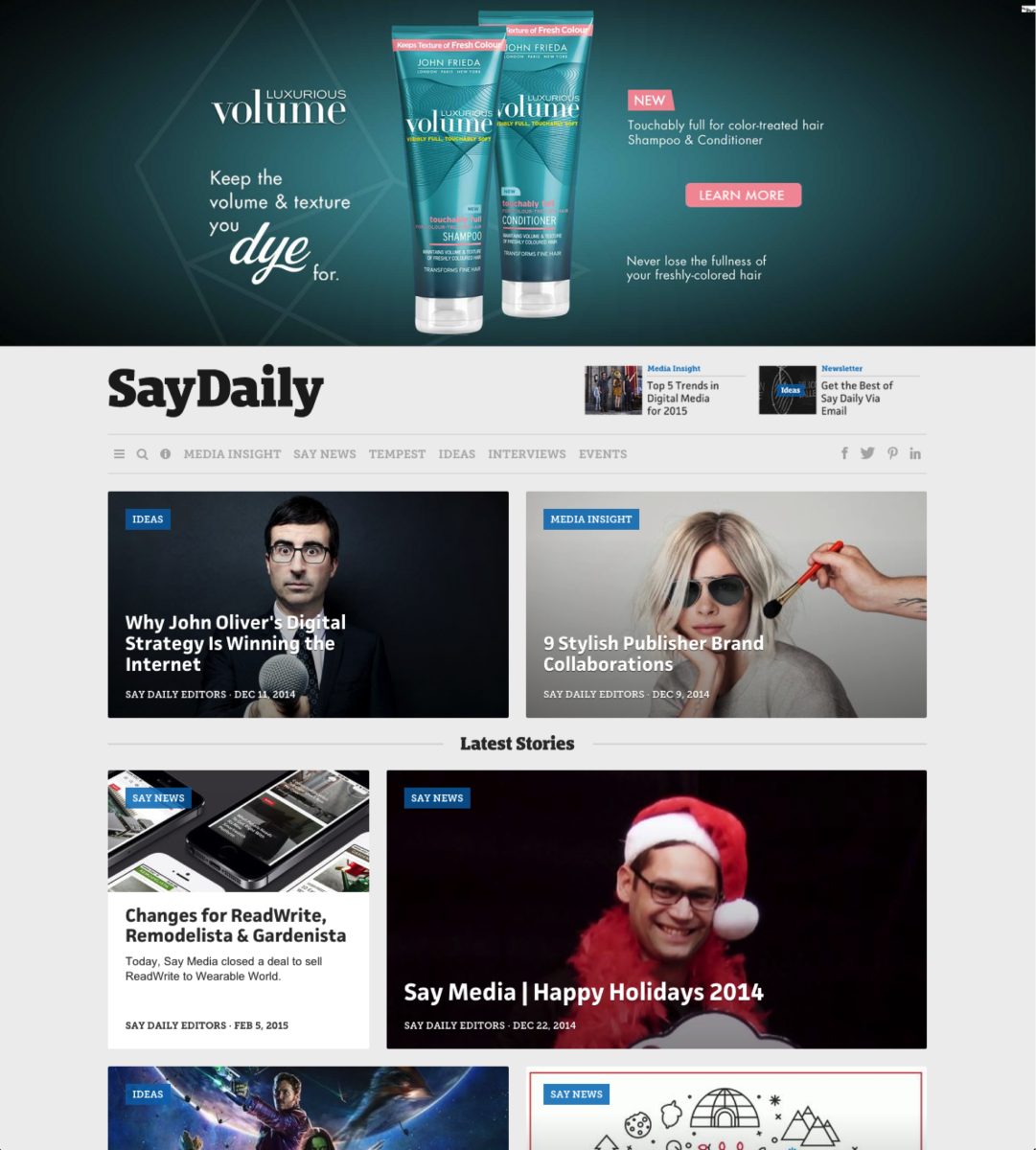 Above-the-fold advertising placements