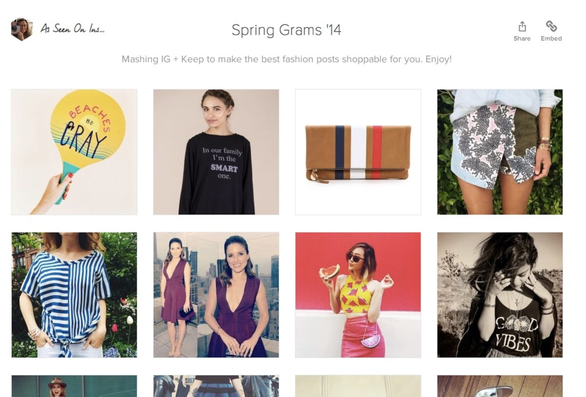 Keepcom 5 Brands That Let You Shop On Instagram Say Daily