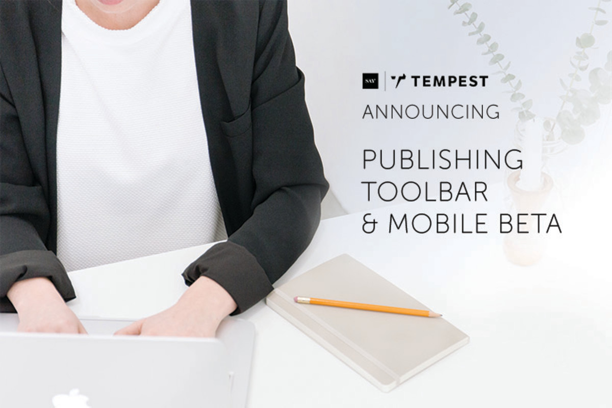 Publishing #toolbar and mobile!